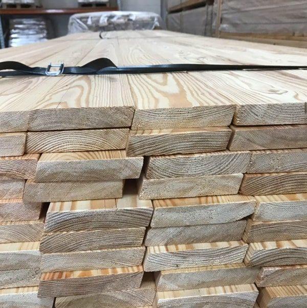 Nord Wood Timber Siberian Larch Cladding Rhimbus Rainscreen