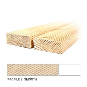 Siberian Larch Cladding - Smooth Profile