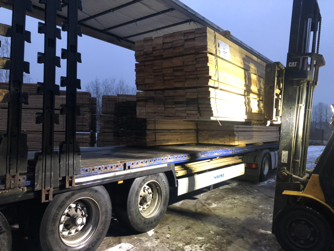 Baltic Hewer Timber